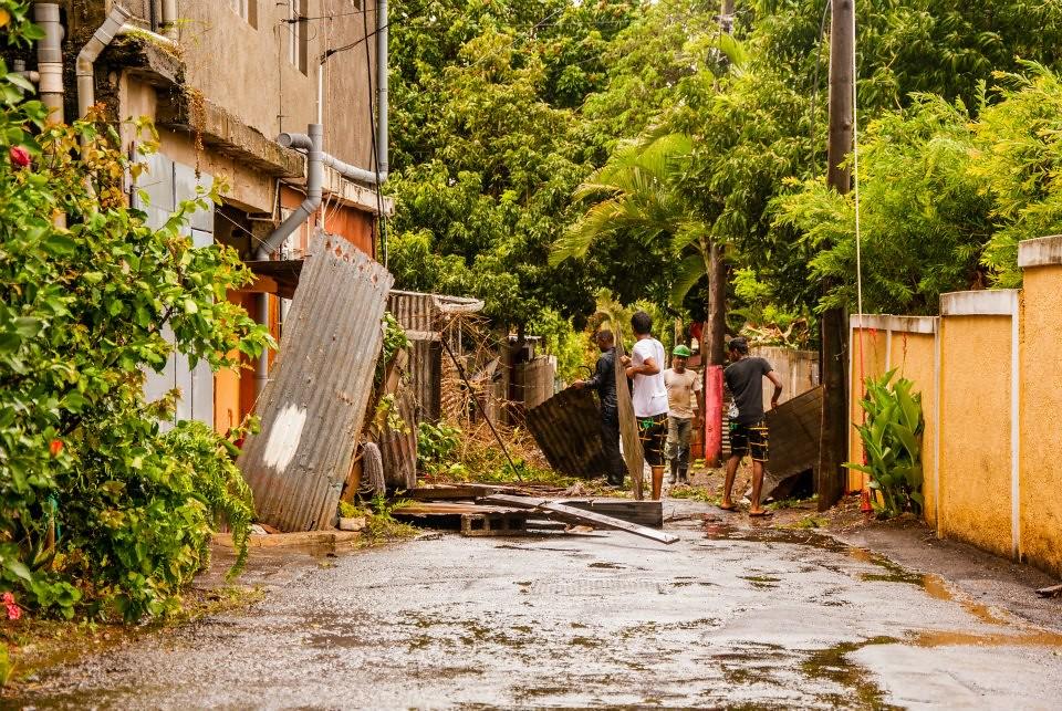 Mauritius dagen efter storm i oktober 2013 (foto: Sandy Marie via Flickr)